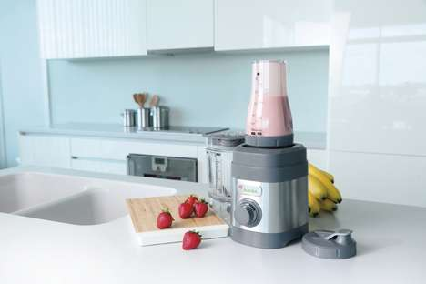 Smoothie Brand Blenders - The Jamba Appliances Smoothie Blender Enables At-Home Preparation