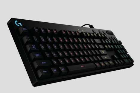 Gamer-Designed Keyboards - The Logitech G810 Orion Spectrum Game Keyboard is a Powerful Peripheral