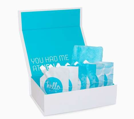 Hydrating Hair Remedies - The Hello Hair Gift Box Features Moisture-Boosting Masks