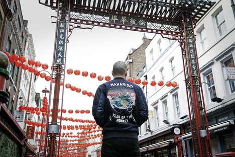 Chinese Holiday Jackets - Maharishi is Celebrating Chinese New Year with an Embroidered Tour Jacket