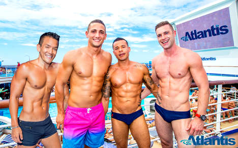 Inaugural LGBT Cruises - Atlantic Events Inc. Will Offer a Gay Cruise Aboard the Anthem of the Seas