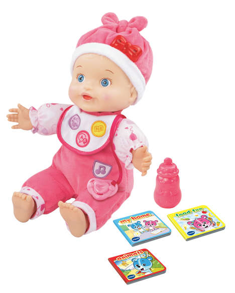 Vocabulary-Enriching Dolls - VTech's Baby Doll Toy Teaches Kids Words and Phrases