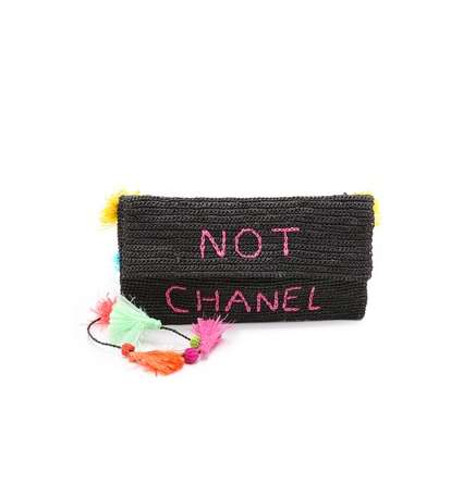 Anti-Designer Handbags - The Not Chanel Body Bag Blatantly Boasts its Lack of Luxury Branding