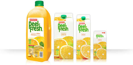 Fortified Fruit Juices - The Marigold Peel Fresh Juices Are Packed With Essential Vitamins