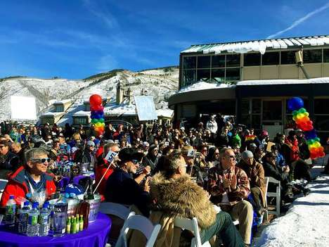 LGBT Winter Sport Events - Aspen Gay Ski Week Provides Inclusive Experiences for All Skiers