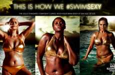 Diverse Swimsuit Campaigns - The #SwimSexy Campaign Features Three Unconventional Models
