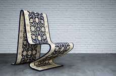 Magic Carpet Chairs - This Contemporary Chair Floats Among Your Living Room Furniture