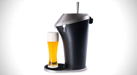 Perfect Pint Dispensers - The Fizzics Beer System Serves a Perfectly Poured Glass of Brew