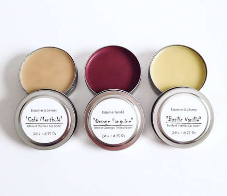 Organic Lip Care Kits - EvyJoAndCo's Natural Lip Balm Set Boasts No Added Preservatives