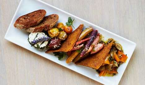 Formal Vegan Restaurants - Cafe Gratitude Offers Animal-Free Cuisine in a Fine Dining Setting