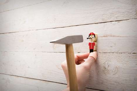 Protective Nailing Guides - The Pinocchio Nail-It is Designed to Keep Thumbs Safe While Hammering