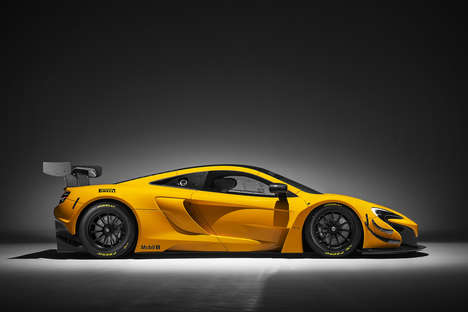 Carbon-Fibre Cars - The 2016 McLaren 650S GT3 Features an Ultra Lightweight Body