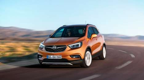 Supremely Connected SUVs - The Opel Mokka X Features Loads Of Infotainment and Connected Features