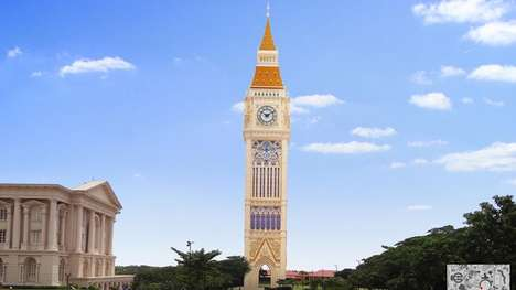 Neo-Gothic Clock Towers - This Free-Standing Clock Tower Will Be Erected In Southern India