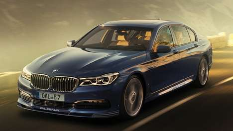 High-Speed Luxury Sedans - The Albina B7 Offers Luxury Interiors & Supremely Impressive Performance