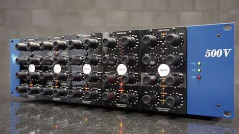 Recycled Vinyl Hardware - Elysia's Audio Hardware Modules Are Made From Recycled Vinyl Records