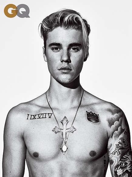 Redemption Songwriter Covers - Justin Bieber Shows off a Matured Look and Attitude for GQ Magazine