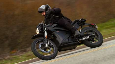Dual-Sport Electric Motorbikes - The Zero DSR Motorbikes Are Perfect For City Riding