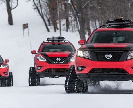 Snow-Shredding Crossovers