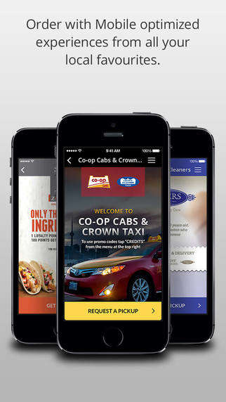 Loyalty-Rewarding Taxi Apps - The Gata Hub App Lets You Order Taxis, Food and Dry Cleaning