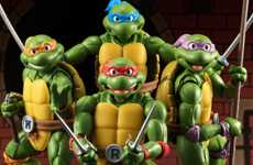 Animated Turtle Action Figures