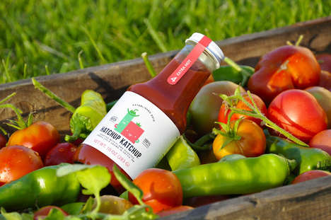 Spicy Artisan Ketchup Branding - Hatchup Katchup is a Gourmet Condiment Handmade in New Mexico