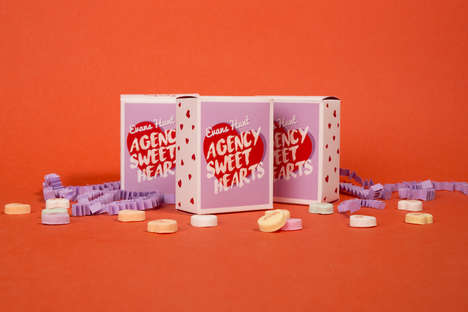 Romantic Copywriter Candies - These Valentine's Day Candy Hearts Use Phrases Inspired By Copywriters