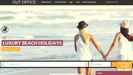 LGBT Travel Websites - 'OutOfOffice' is an LGBT Travel Start-Up for Flights, Hotels and Excursions