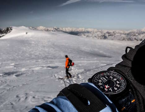 Orienteering Explorer Watches - The Terra Cielo Mare Orienteering BP Watch is Ready for Anything