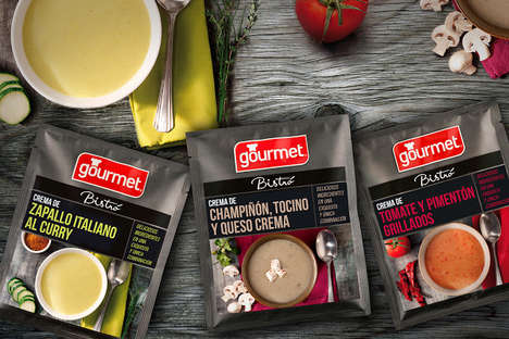 12 Gourmet Soup Products - From Bottled Cold Soups to Savory Spanish Soups