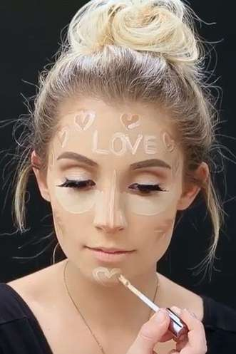 Romantic Contour Styles - Valentine's Day Contouring is the Perfect Beauty Hack for the Special Day