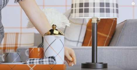Pattern-Enriched Furniture Ads - Target's 'All Squared Away' Commercial Highlights Plaid Home Decor