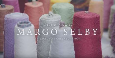 Artisanal Decor Ads - 'In The Studio With Margo Selby' Highlights West Elm's New Collaboration