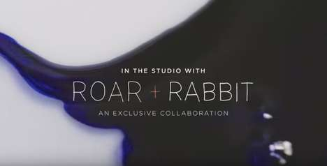 Arful Decor Collaborations - West Elm's Roar + Rabbit Collaboration is Profiled in a Captivating Ad