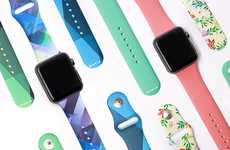 Stylish Smartwatch Bands - WRBLS Sports Bands for the Apple Watch are Fashionable and Functional