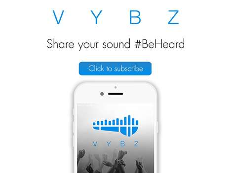 Musical Social Networks - VYBZ is a Social Music App That Helps Artists Get Their Voice Heard