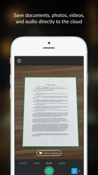 Scanning Document Apps - The Box Capture Platform Lets Consumers Screen Information While on-the-Go