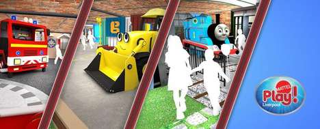 Family Entertainment Theme Parks - The Mattel 'Play!' Entertainment Park Will Offer Fun Attractions