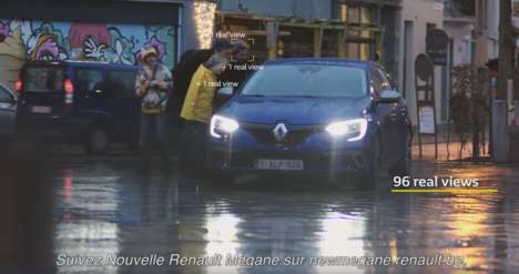 Attention-Tracking Cars - This Renault Car Was Fitted with Cameras to Track Those Who Look at It