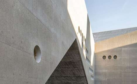 Industrial Museum Extensions - The Swiss National Museum Renovation is Concrete-Cald