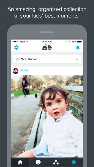 Protected Family Photo Apps - The Notabli App Lets You Safely Organize and Share Family Photos