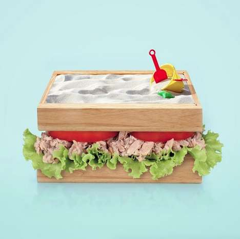 Surrealist Food Compositions - Paul Fuentes Recreates Popular Meals Using Everyday Objects