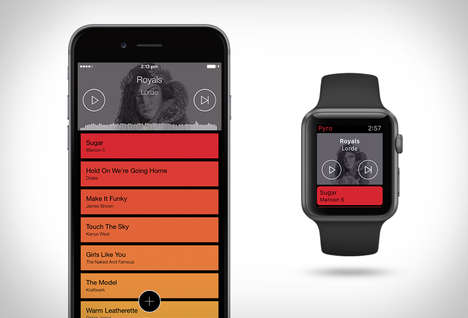 Mixing Music Platforms - The Pyro App Lets Consumers DJ Directly from their Smartphones