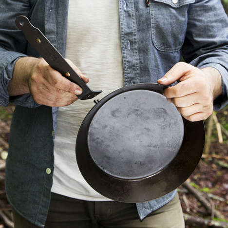Collapsible Outdoor Skillets - The 'Takedown Skillet' by Best Made Company Boasts a Packable Design
