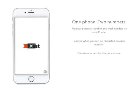 Duo-Number Phones - Mast Mobile Lets Customers Use One Work and One Personal Phone Number
