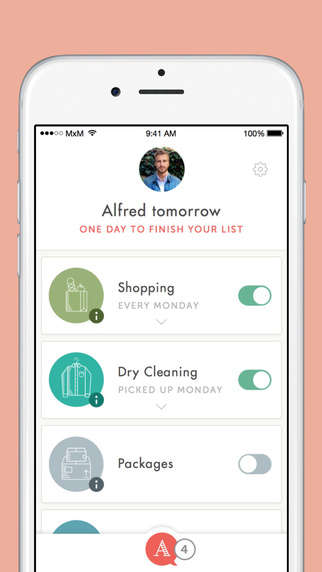 Comprehensive Chore Services Apps - 'Alfred' Lets You Hire Someone to Do Your Groceries and Laundry