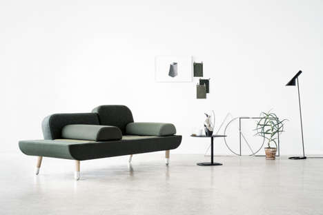 Interchangeable Sofa Sectionals - The TOWARD Couch Can be Reconfigured to Suit Different Layouts