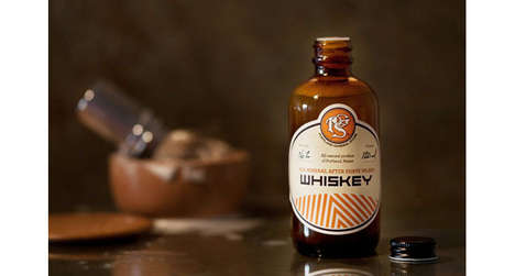 Whiskey Aftershave Remedies - This Artisanal Skincare Product Boasts Whiskey and Pine Ingredients