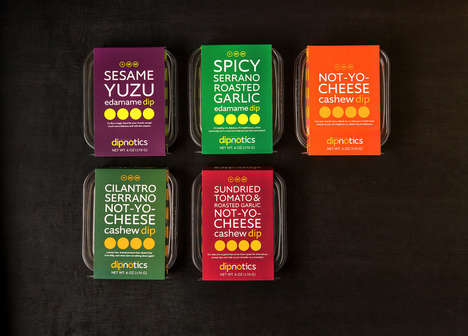 Vegan Alternative Dips - 'Dipnotics' Vegan Dips Substitute Traditional Dairy Ingredients