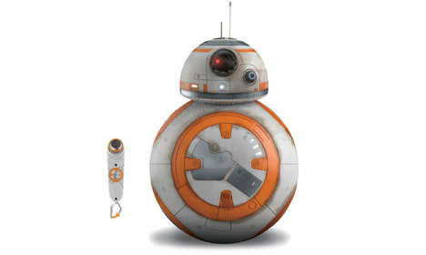 Voice-Controlled Robotic Toys - This Star Wars BB-8 Robot Toy Responds To Your Voice Commands